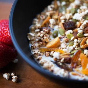 gluten free muesli granola